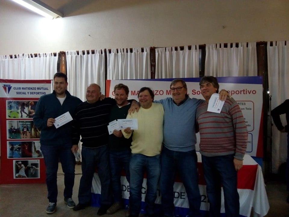 Walter Ventura ganó el premio mayor del Bono del Fútbol de Matienzo