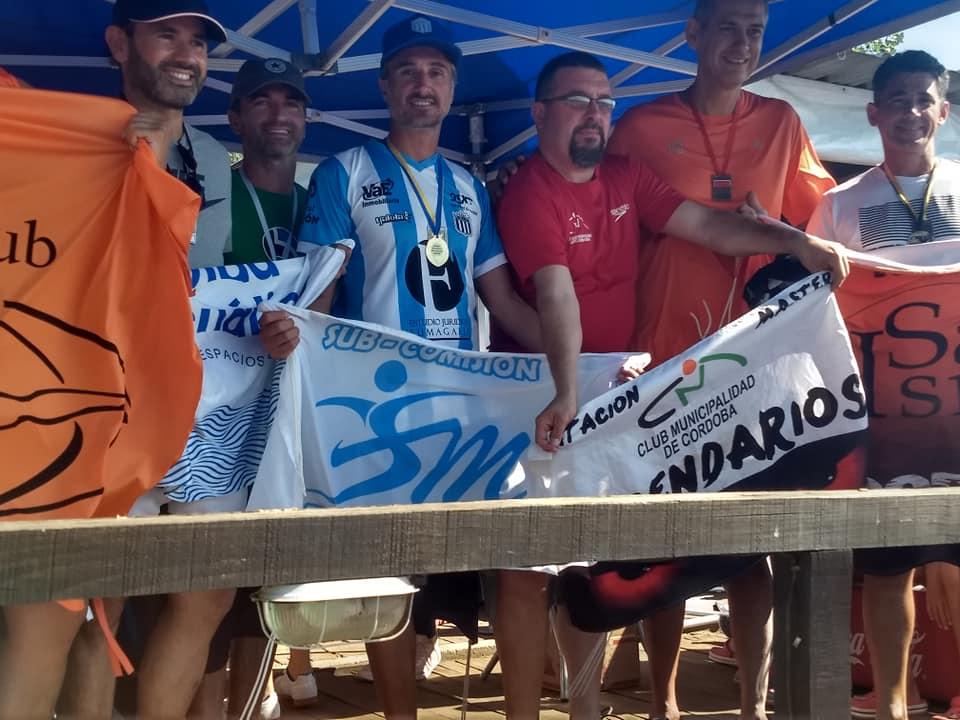 Flavio Rimoldi sub campeón Interprovincial de Aguas Abiertas