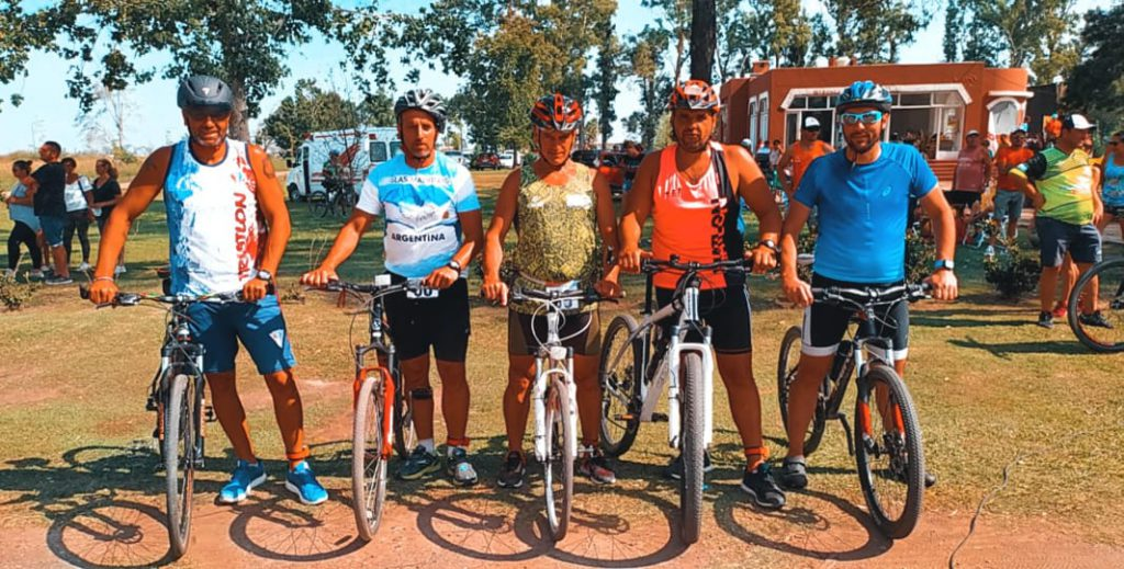 Monteboyenses destacados en triatlón de Marcos Juárez