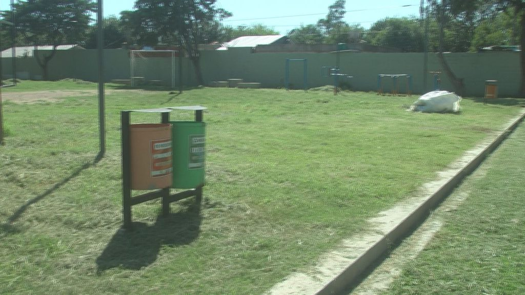 El Municipio atendió el reclamo por plaza Evita