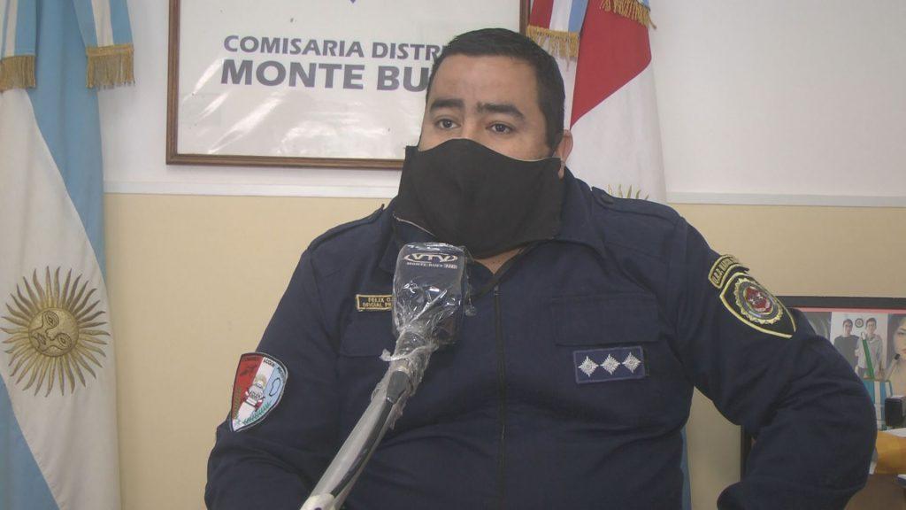 Felix Tisera es el nuevo jefe de la Comisaría Monte Buey