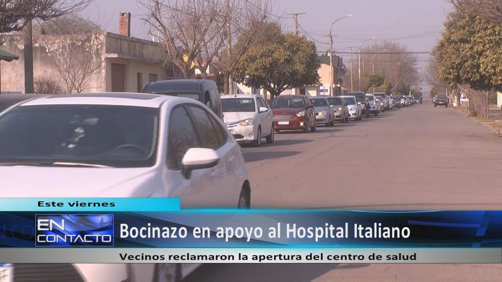 Vecinos de Monte Buey pidieron al COE Central la reapertura del Hospital Italiano.