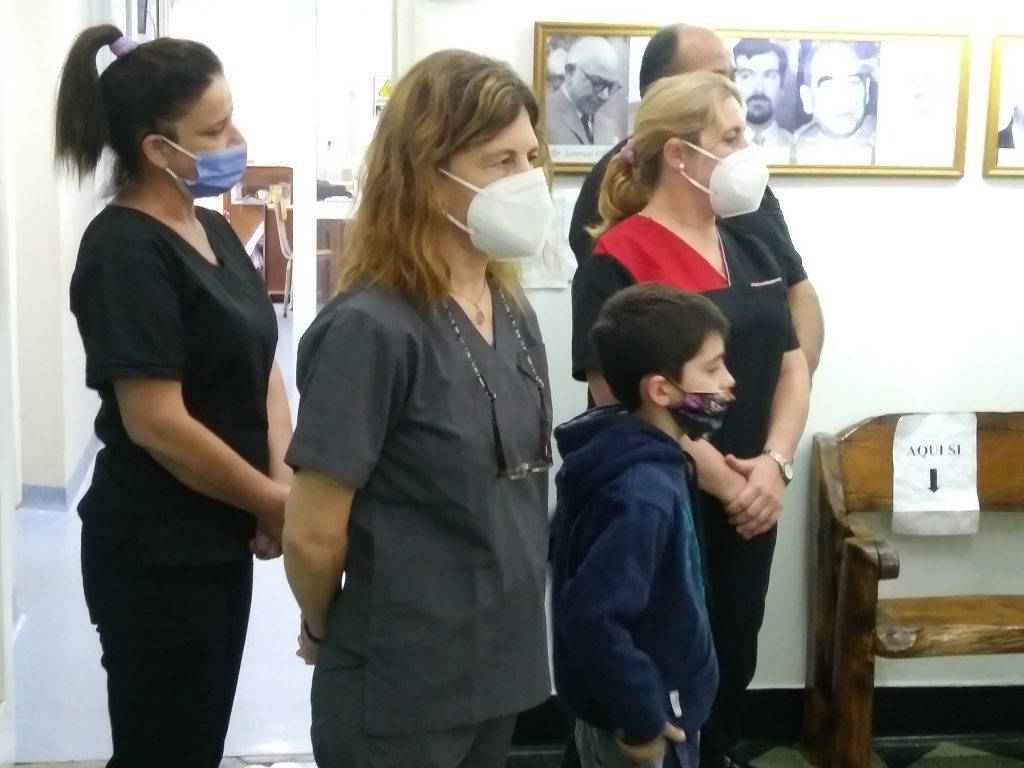 Enfermeros piden la incorporacion a planta permanente