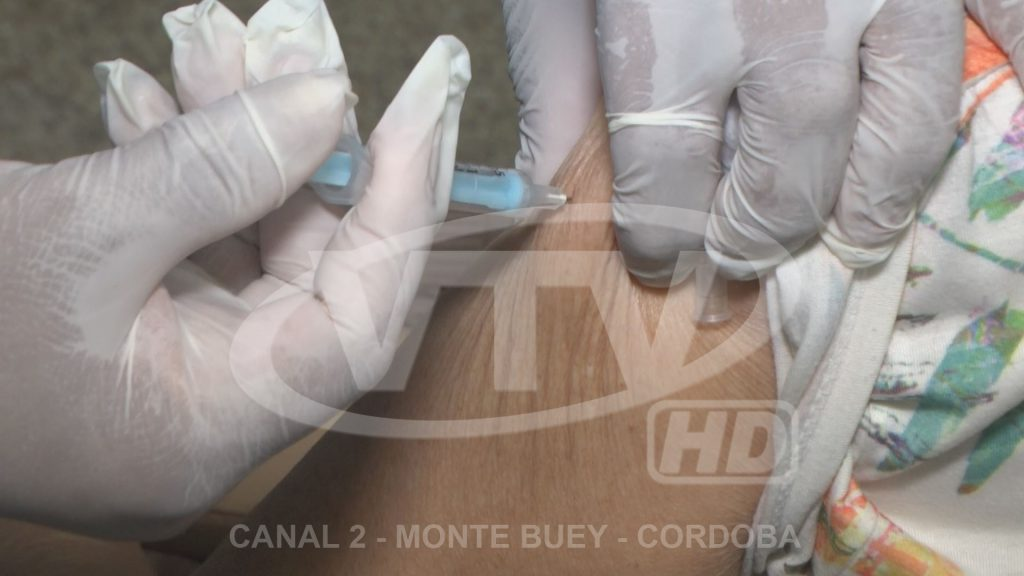 Covid: 140 monteboyenses más se vacunarán en estos días