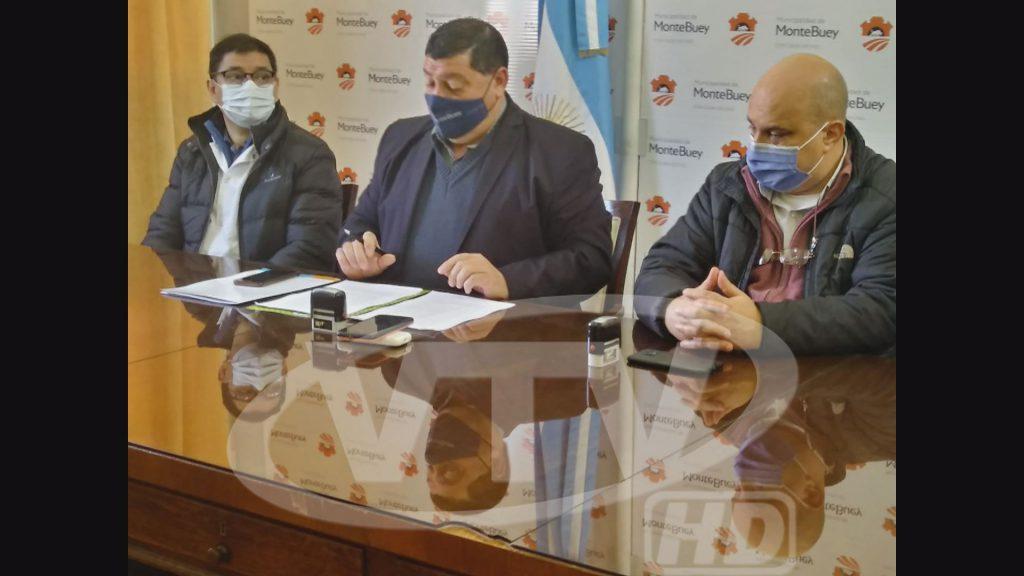 Firmaron convenio de Cooperación los hospitales locales