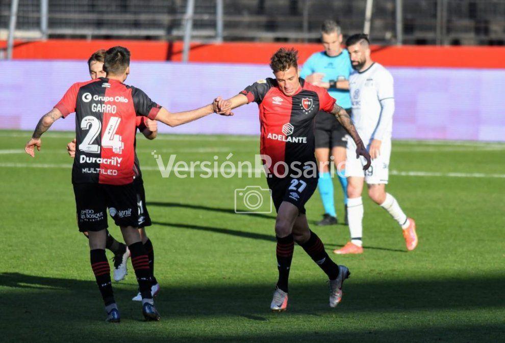Compagnucci debutó en Newell's con un gol