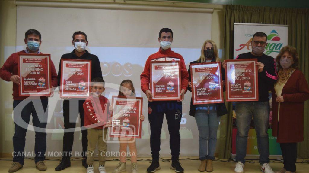 El Club Alianza presentó el Mundialito de Arteaga